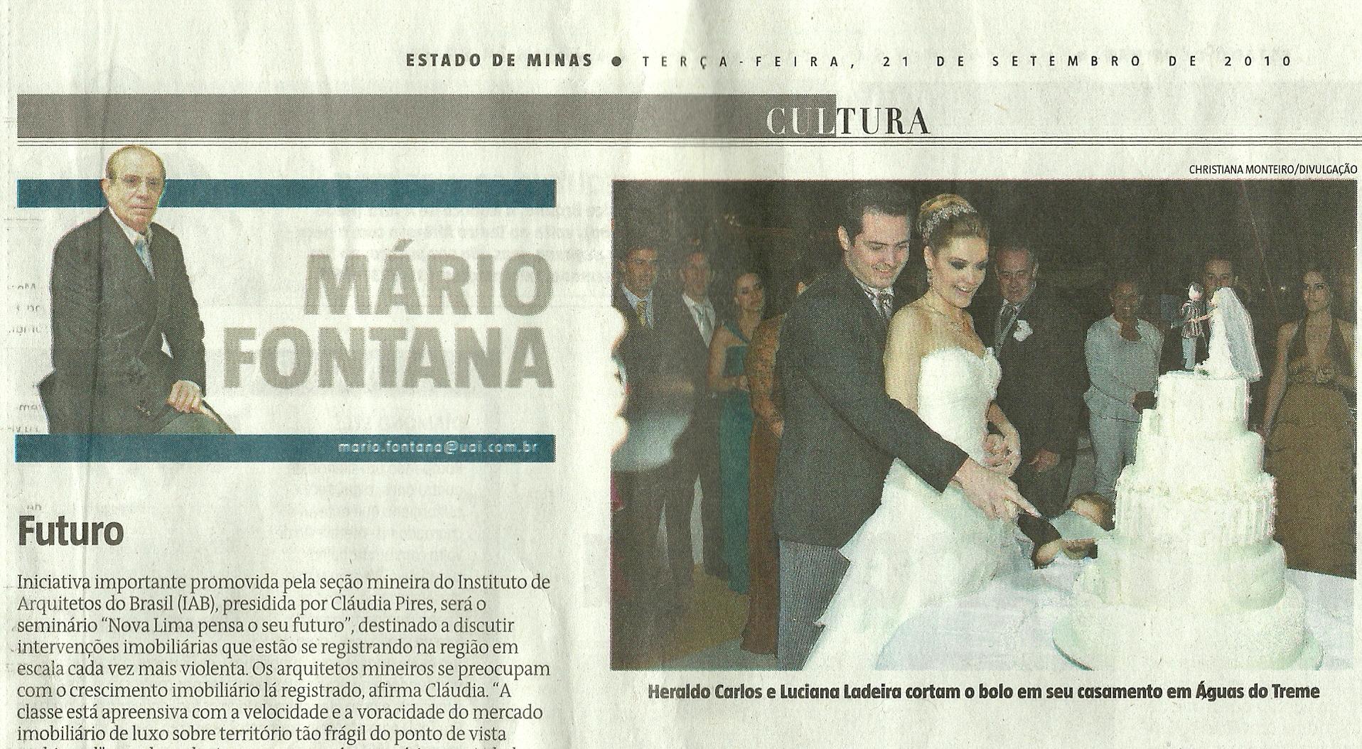 Luciana Ladeira no Estado de Minas