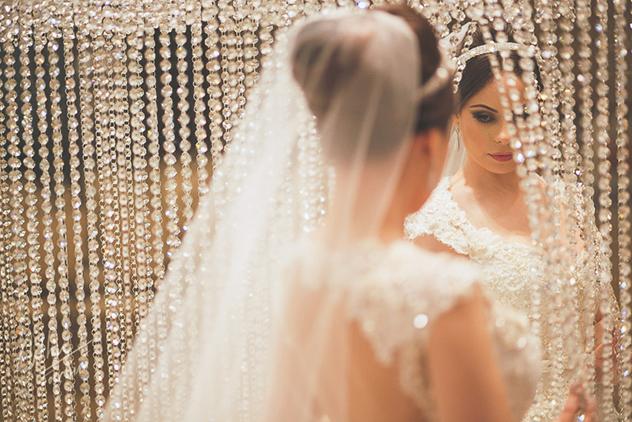 Avivar - Tiara Chanel + Brincos Glamour