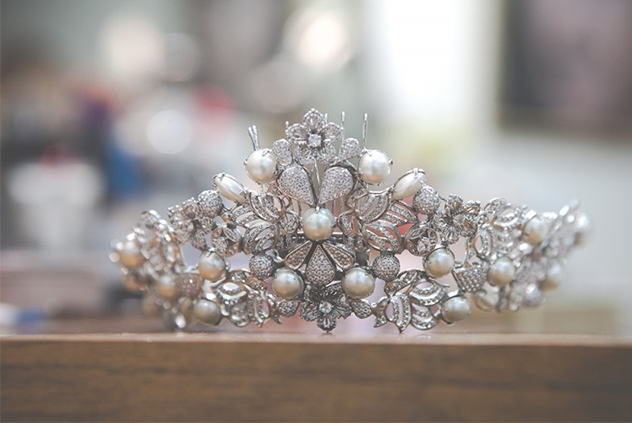 tiara de pérola